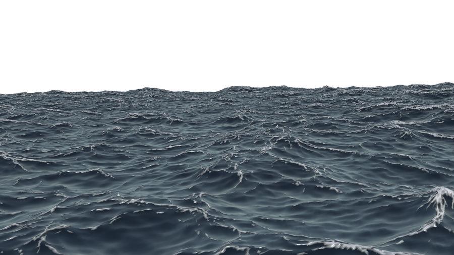 ocean V1 royalty-free 3d model - Preview no. 7