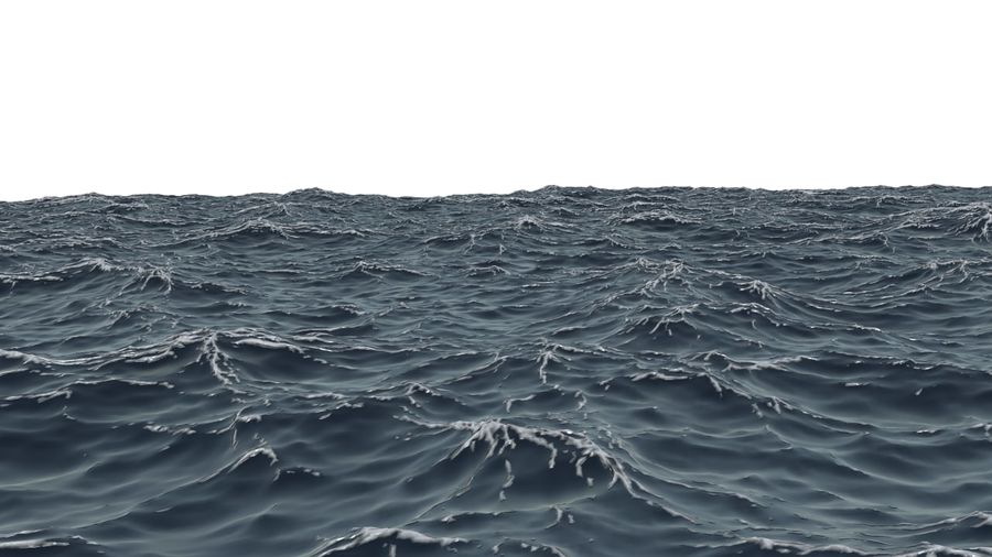 Ozean V1 royalty-free 3d model - Preview no. 3