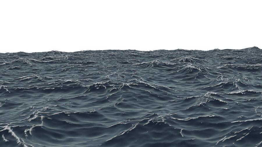 Ozean V1 royalty-free 3d model - Preview no. 2