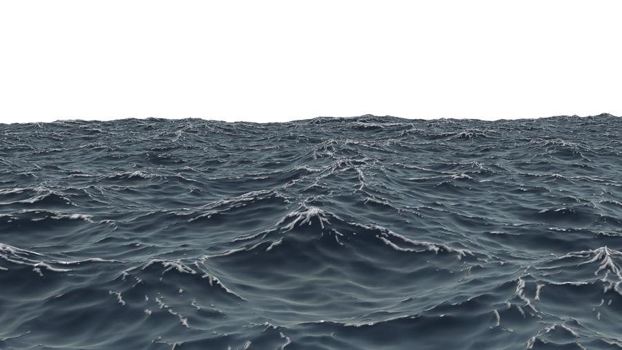 ocean V1 royalty-free 3d model - Preview no. 6