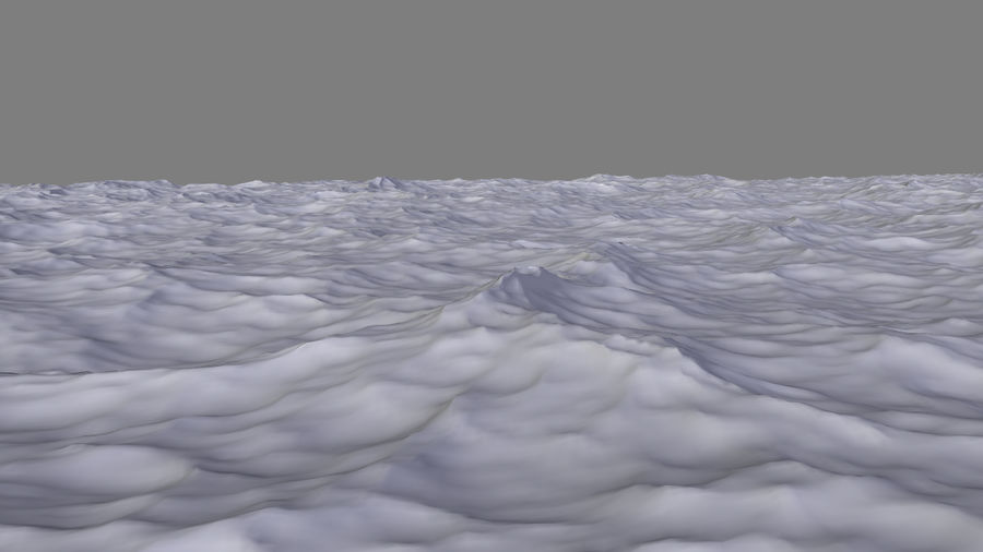 ocean V1 royalty-free 3d model - Preview no. 9