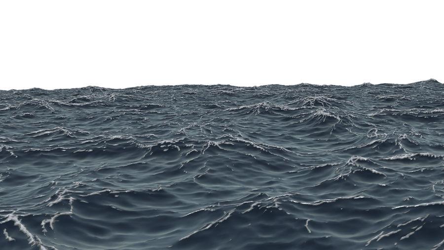 ocean V1 royalty-free 3d model - Preview no. 2