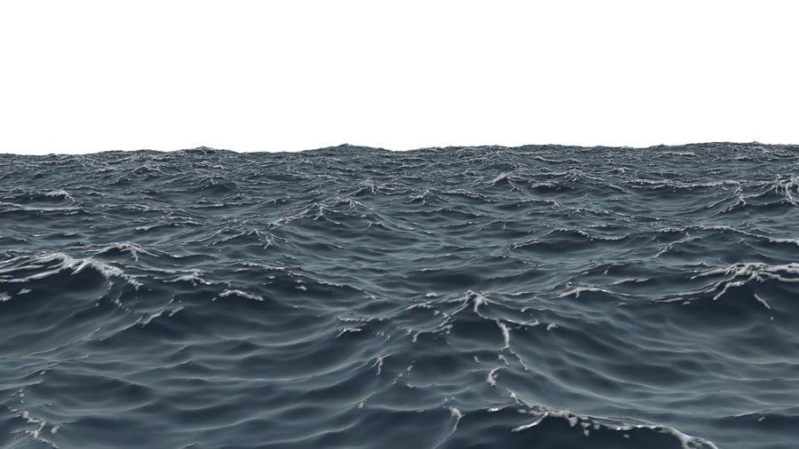 ocean V1 royalty-free 3d model - Preview no. 5