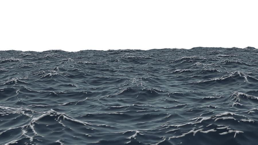 ocean V1 royalty-free 3d model - Preview no. 4