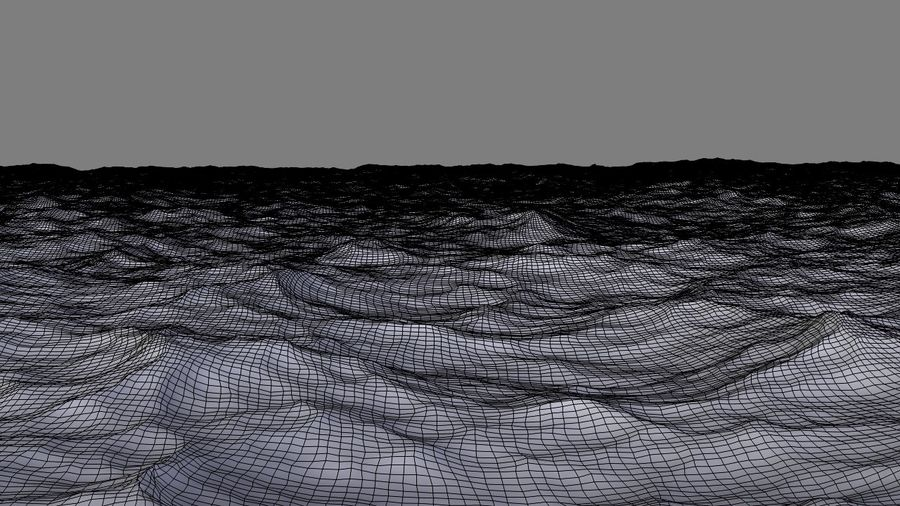Ozean V1 royalty-free 3d model - Preview no. 14