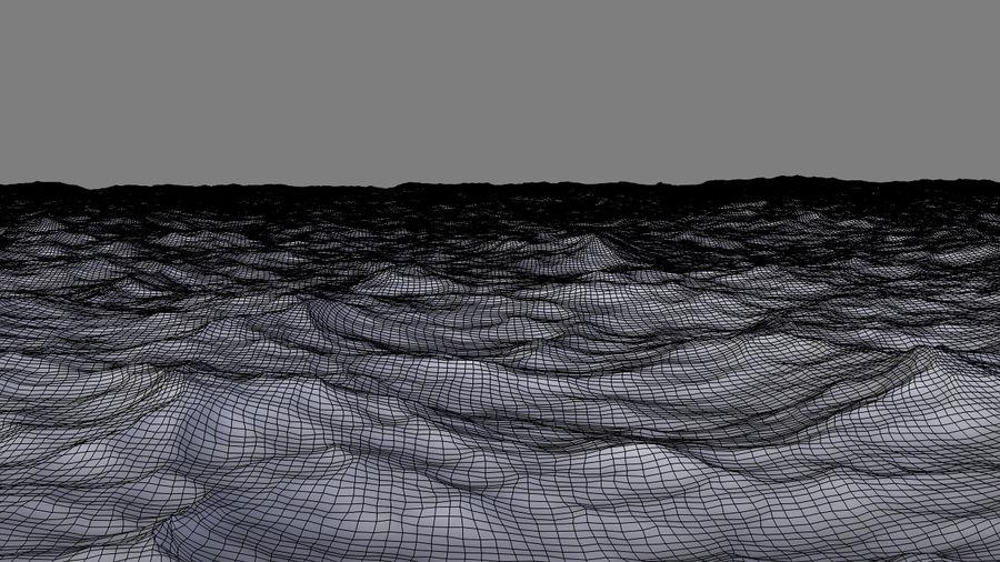 ocean V1 royalty-free 3d model - Preview no. 14