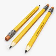 鉛筆 3d model