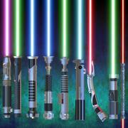 Collezione di spade laser 3d model