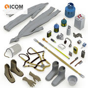 Industerial Safety Tools Bundle 3d model