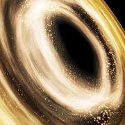 Espacio galaxia modelo 3d