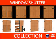 Window shutter - persiane collection 3d model