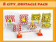 obstacle 3d model