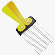 Afro Comb 3d model