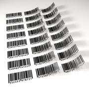 Barcodes 3d model