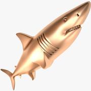 Fish X1 Shark 3d model