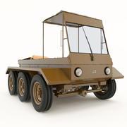 traktör 3d model