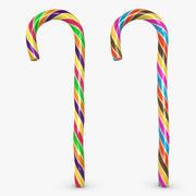 Candy Cane 05 (2 colori) 3d model