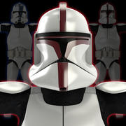 klon askerleri 3d model
