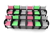 의자 컬렉션 3d 모델 3d model
