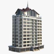 12 Storey House 3d model