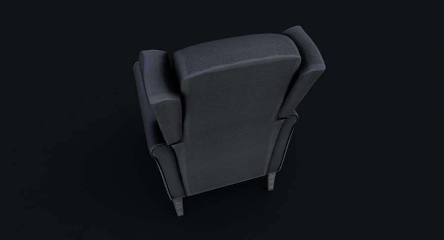 Armchair royalty-free 3d model - Preview no. 9