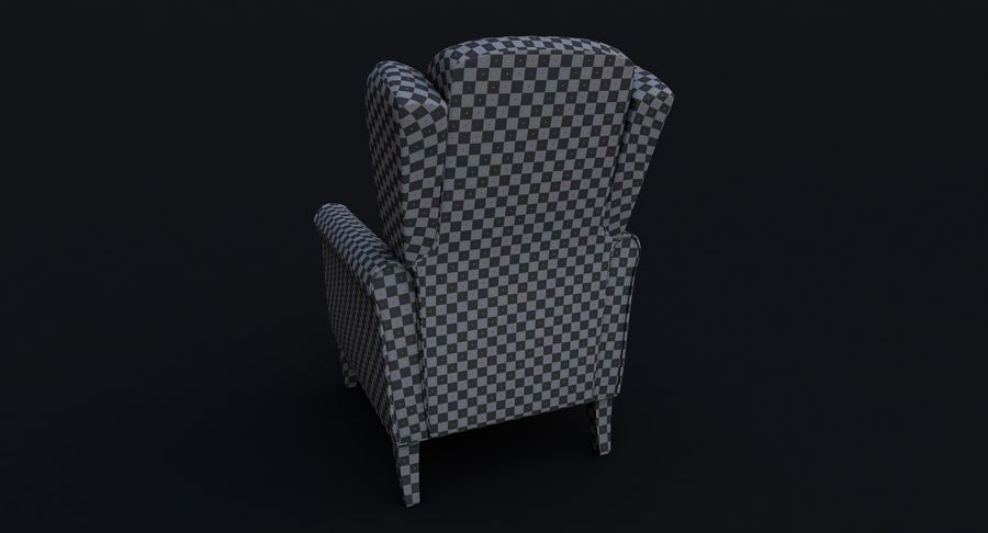 Armchair royalty-free 3d model - Preview no. 18
