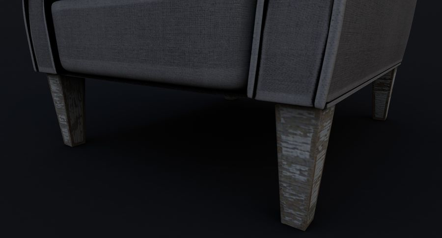 Armchair royalty-free 3d model - Preview no. 14