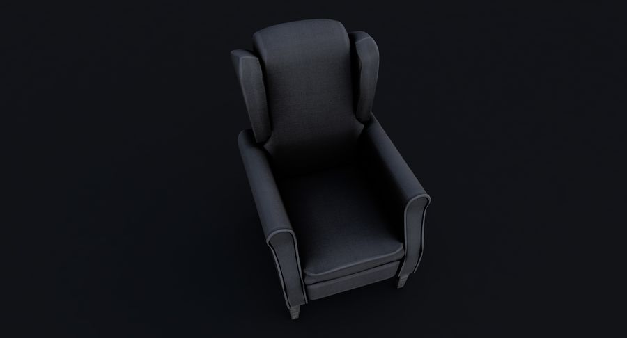 Armchair royalty-free 3d model - Preview no. 7