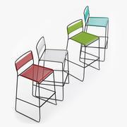 Log Spaghetti Chair 3d model