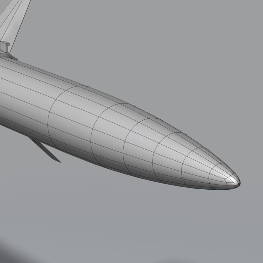 AGM-88 royalty-free 3d model - Preview no. 15