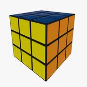 Rubik küp 3d model