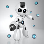 机器人 3d model