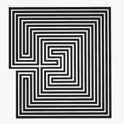 Maze Labyrinth Geometry V.2 3d model