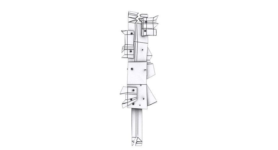 Juego de armas de madera listo royalty-free modelo 3d - Preview no. 17