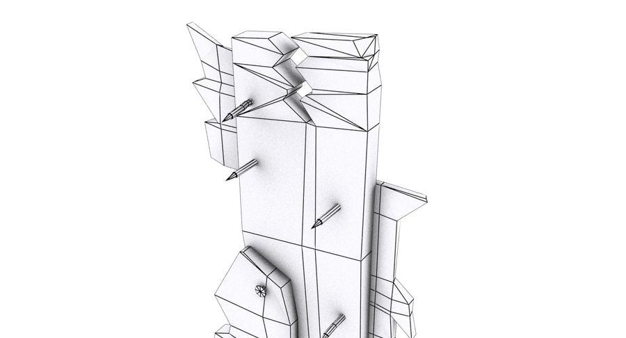 Juego de armas de madera listo royalty-free modelo 3d - Preview no. 21