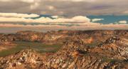 Krajobraz terenu 3d model