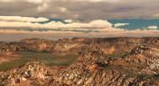 Terrein landschap 3d model