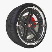 Vorsteiner Sports Tire 3d model