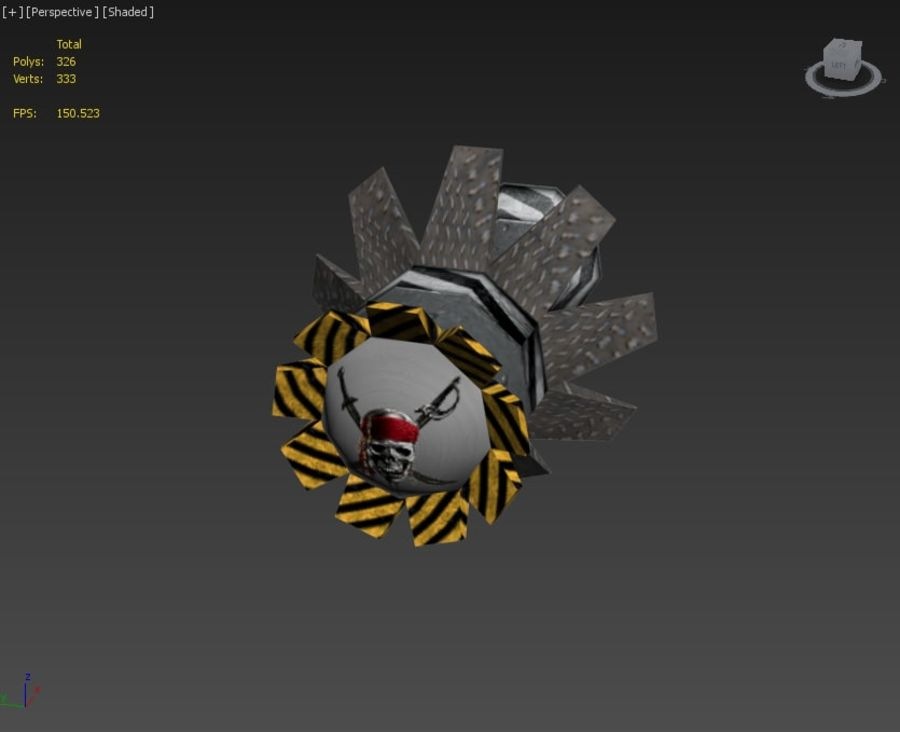 Bombs royalty-free 3d model - Preview no. 16