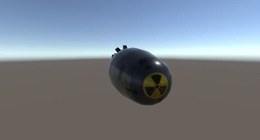 Bombs royalty-free 3d model - Preview no. 7