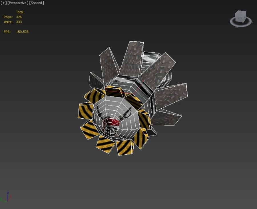 Bombs royalty-free 3d model - Preview no. 15