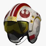 Luke Skywalker Helmet 3d model