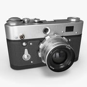 Retro aparat fotograficzny 3d model