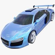 汽车奥迪R8 3d model