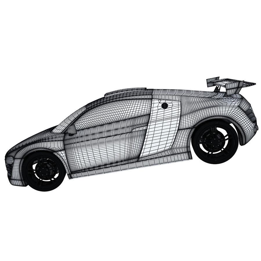 Auto Audi R8 royalty-free 3d model - Preview no. 10