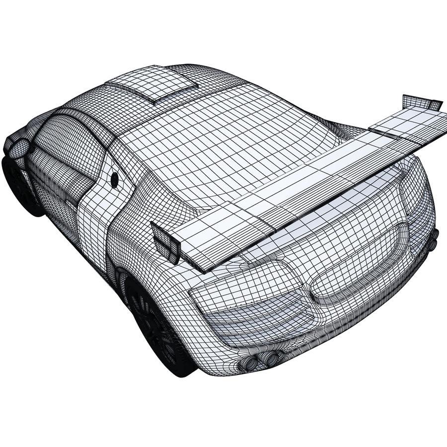 Auto Audi R8 royalty-free 3d model - Preview no. 11
