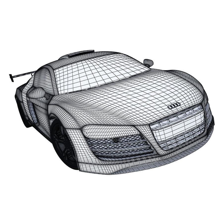 Auto Audi R8 royalty-free 3d model - Preview no. 12