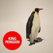 pinguïn 3d model
