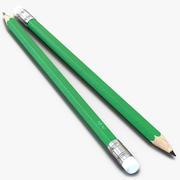 Pencil Generic 3D Model 3d model