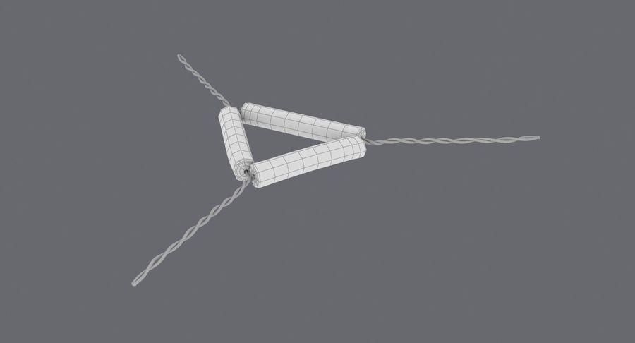 Triángulo de vástago de tubería royalty-free modelo 3d - Preview no. 19